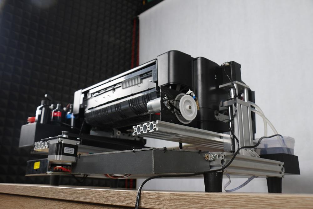 Foto Bagian Belakang Printer UV Modiflat